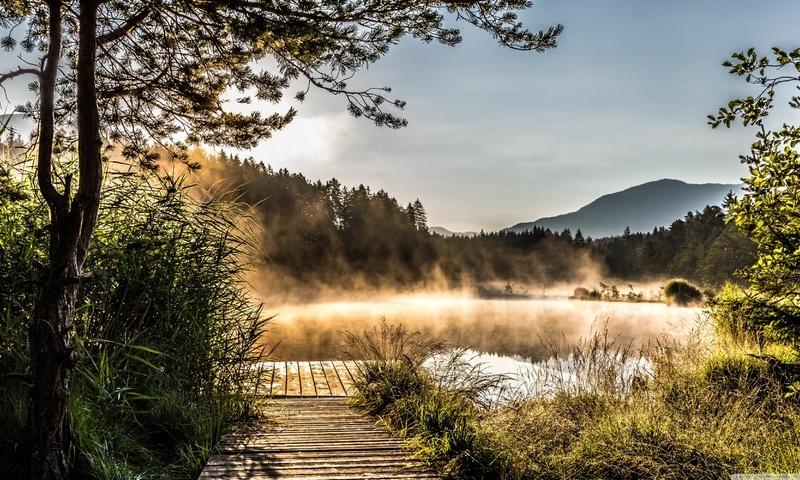 Egelsee Lake in Carinthia (800x480)