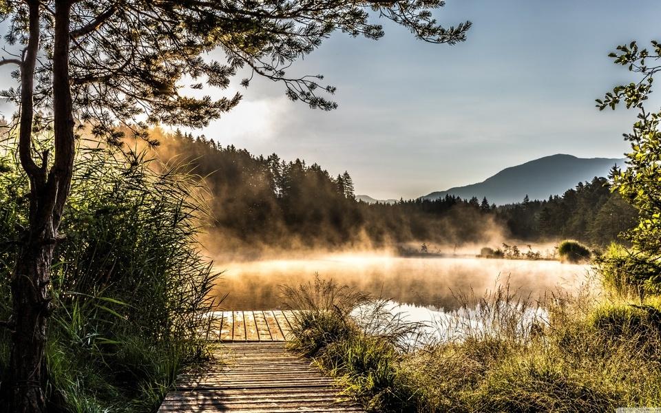 Egelsee Lake in Carinthia (960x600)