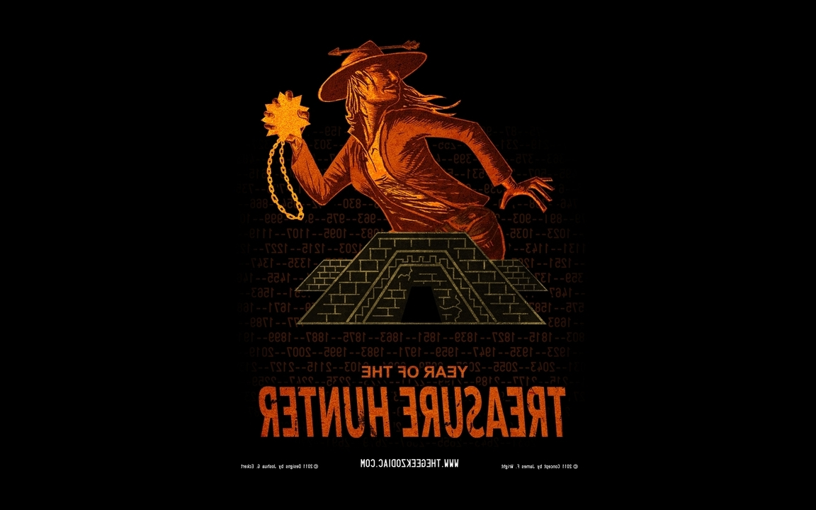 Humor geek hunter numbers zodiac artwork characters treasure (1152x720)