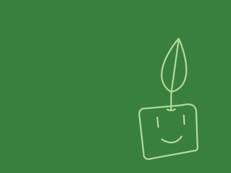 Minimalistic plants artwork (800x600)