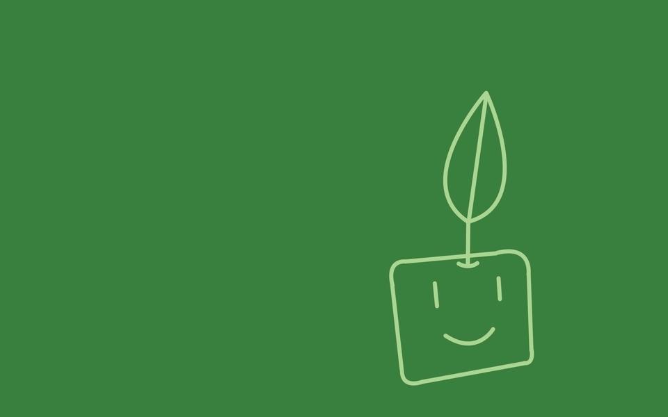 Minimalistic plants artwork (960x600)
