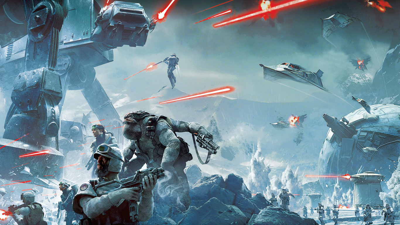 Star Wars Battlefront... (1366x768)