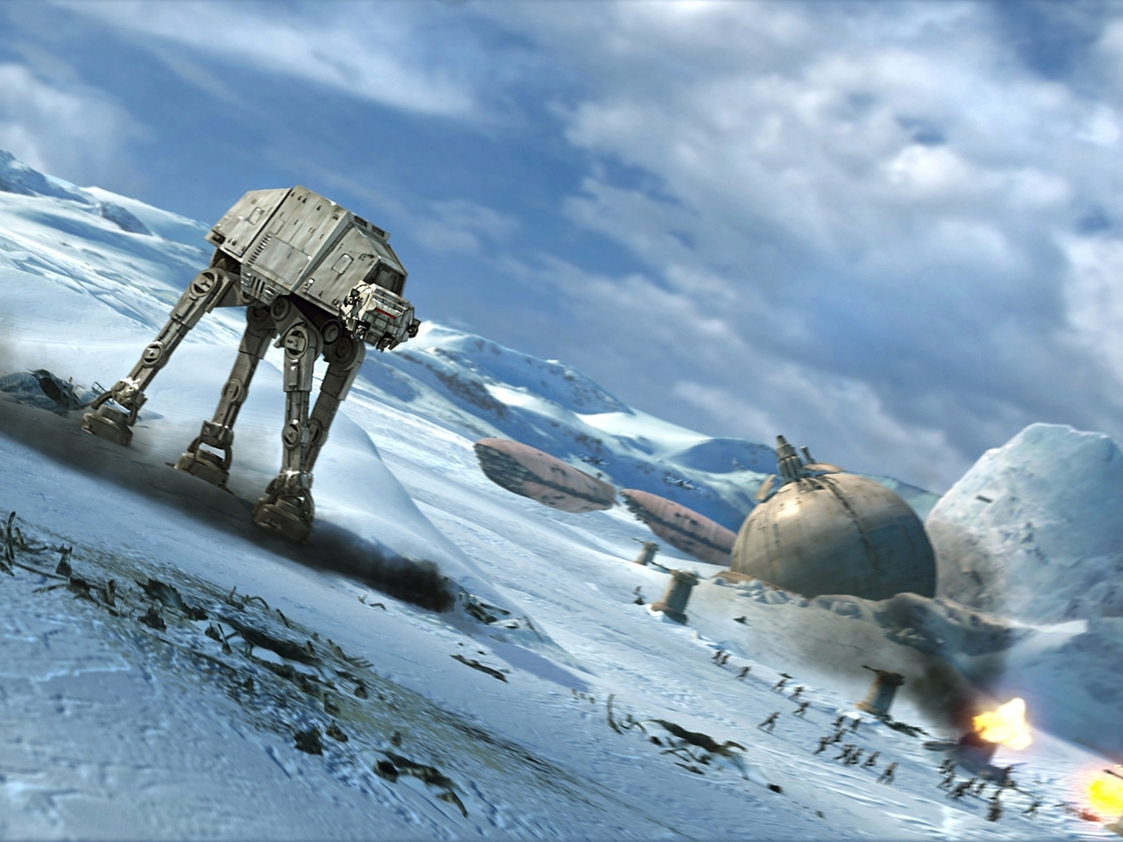 Star wars hoth battles atat (1600x1200)